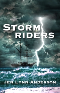 Stormriders digital adventure fiction series by Jen Lynn Anderson published on Channillo